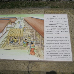 Heijo Castle Archeological Site Signage