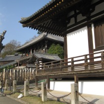 Another temple complex (or part of the last?) on my way to a third temple in Nara