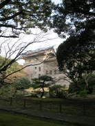 View of the National Museum from its garden