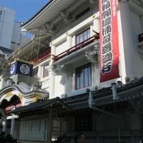 Kabuki-za Theater in Ginza, near my hotel