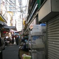 Tsukiji Market close up