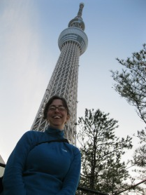 Sky Tree and Me. It's tall!
