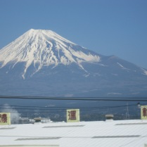 Mt. Fuji again - magnificent, so it was hard to stop taking pictures!