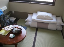 Room at the Ryokan