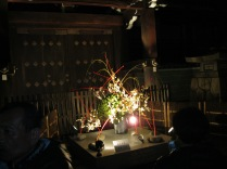 Part of the Hannatouro included ikebana displays