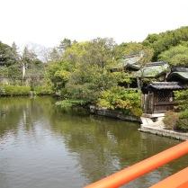 Shinsenen view from bridge