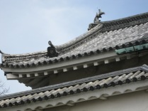 Nijo Palace roof detail