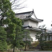 Area inside Nijo Palace