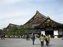 Nijo Palace - into the main building