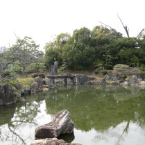 Nijo Palace - one of the gardens