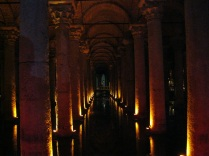 Entering the Basilica Cisterns
