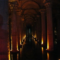 Entering the Basilica Cisterns