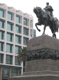 Artigas's Mausoleum and the presidential offices