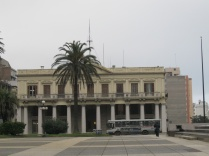Building at Plaza Independencia, possibly Palacios Estevez, the former Government House
