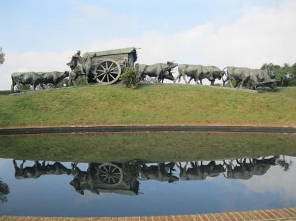 Monument to gauchos