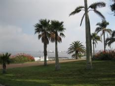 View towards Montevideo