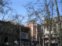 Corner opposite the church, Montevideo