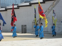 Changing of the guards, Gyeongbokgung, Seoul