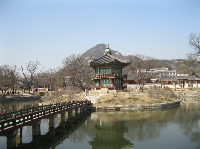 A lovely little pavillion at the rear of Gyeongbokgung