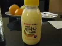 Banana milk!
