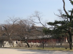 Entrance to palace of Cheangdeok