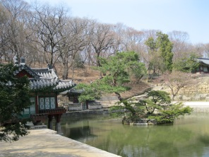The secret garden behind Cheangdeokgung