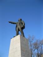 Statue of Lenin in Vladivostock