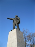 Statue of Lenin in Vladivostock