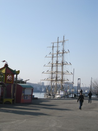 Historic ship, Vladivostock