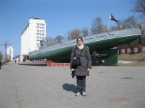 The old Soviet sub from the other side