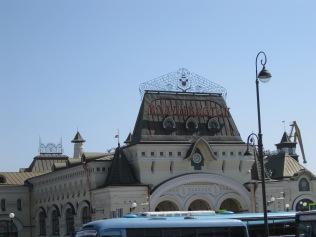 See the sign? Vladivostock!