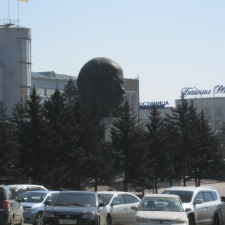 Biggest Lenin's head statue