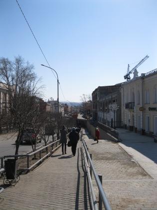 Heading towards the old city