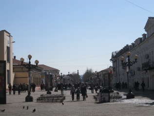 Ulan Ude's pedestrian street