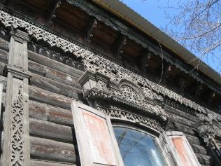 Ornate wooden fretwork