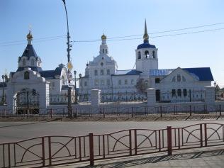 Orthodox buildings, Ulan Ude