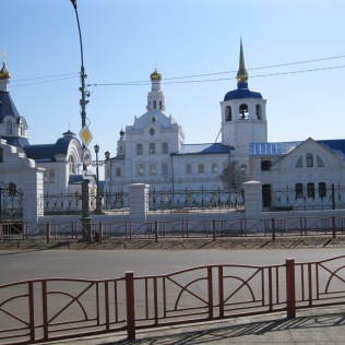 Orthodox buildings, Ulan Ude