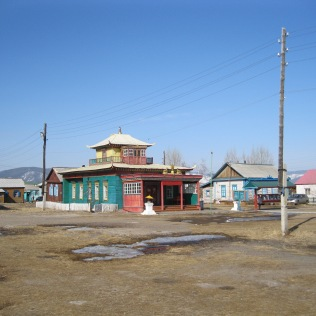 Some buildings in the datsan