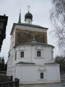 Frescos on Church of the Savior
