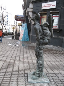 Why gee golly, I guess they have a sense of humor about tourists in Irkutsk