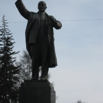 Another city, another Lenin