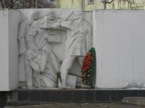 Soviet looking memorial