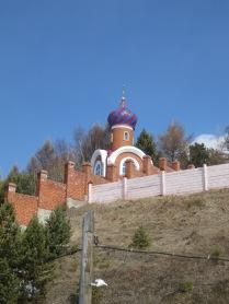 An Orthodox church, Listvyanka