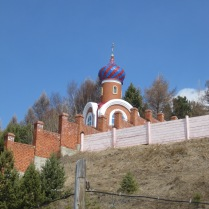 An Orthodox church, Listvyanka