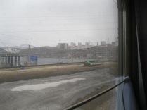Arriving in a big city (Novosibirsk?)