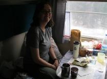 Enjoying my compartment