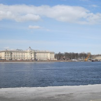 The Neva river