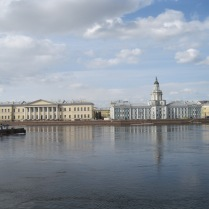 St Petersburg's mighty river