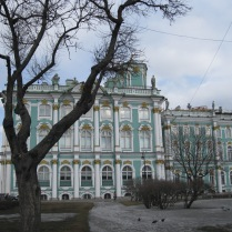 First view of the Hermitage