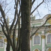 Details of the Hermitage exterior